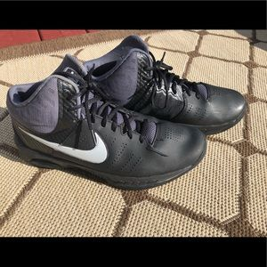 Nike high top sneakers, size 9.5